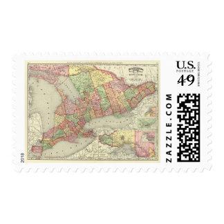 Ontario 4 postage