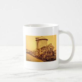 Ontario and Western RR Classic White Coffee Mug