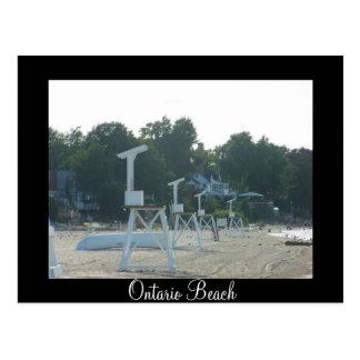 Ontario Beach Postcard