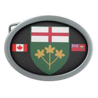 Ontario* Belt Buckle