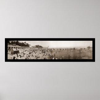 Ontario Canada Bathing Photo 1911 Print