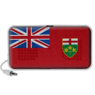 Ontario (Canada) Flag iPhone Speakers