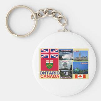 Ontario Canada Keychain