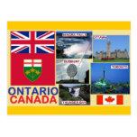 Ontario Canadá Tarjeta Postal