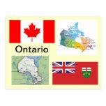 Ontario Canadá Tarjetas Postales