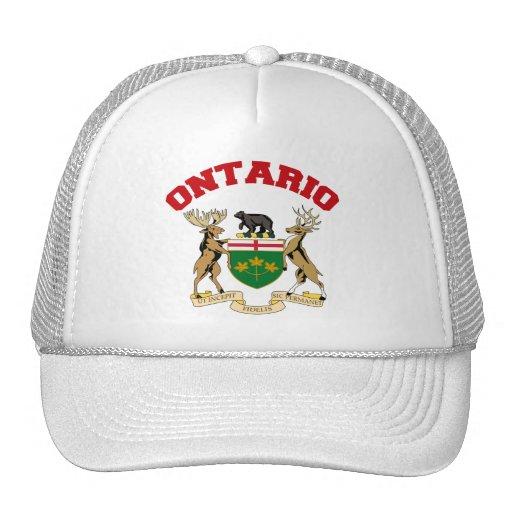 ONTARIO, CANADA TRUCKER HATS