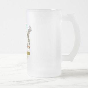 Ontario COA Frosted Glass Beer Mug