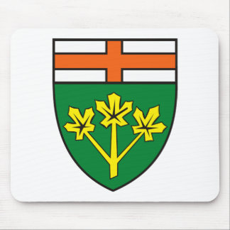 Ontario Coat of Arms (province) Mousepad