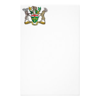 Ontario coat of arms stationery