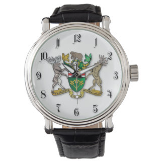 Ontario coat of arms watch