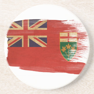 Ontario Flag Coasters