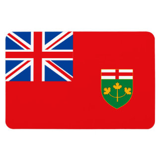 ONTARIO Flag Magnet