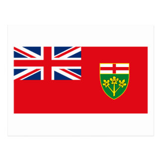 Ontario Flag Postcard
