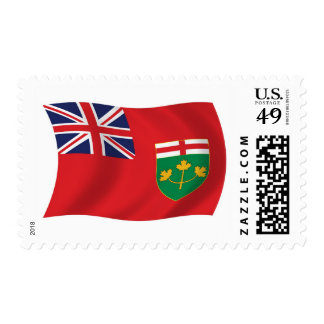 Ontario Flag Stamps