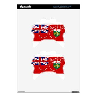 Ontario Flag Xbox 360 Controller Decal