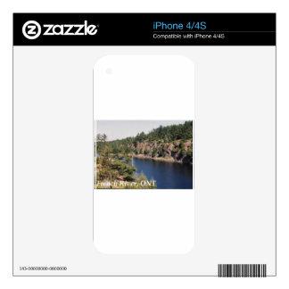 Ontario francés del río skin para el iPhone 4S