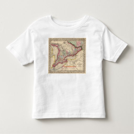 Ontario Map by Mitchell T Shirt