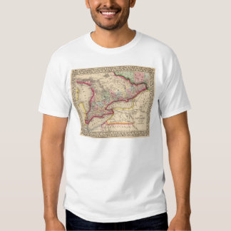 Ontario Map by Mitchell Tee Shirt