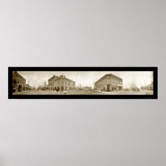 Ontario Oregon Photo 1907 Poster