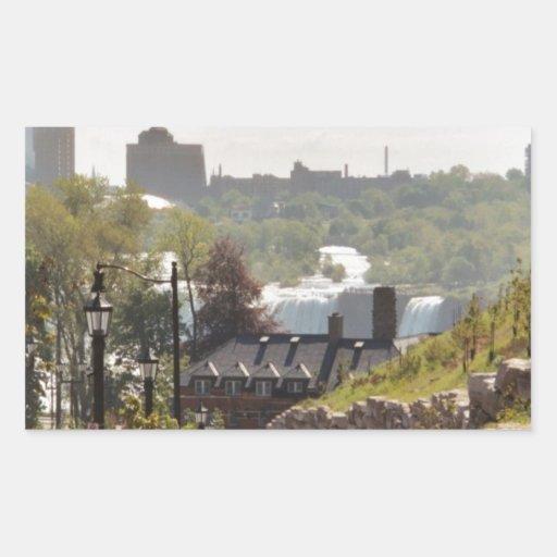 Ontario Pegatina Rectangular