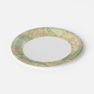 Ontario & Quebec 7 Inch Paper Plate
