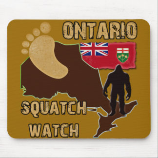 Ontario Squatch Watch Mouse Pad