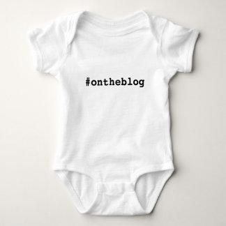#ontheblog baby creeper shirt