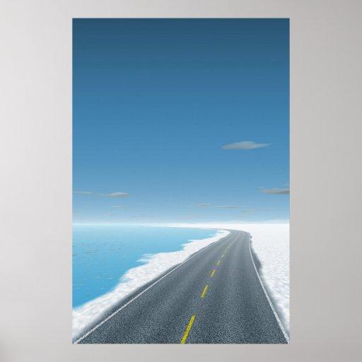 OnTheRoadAgain - camino del hielo Posters