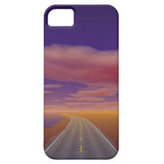 OnTheRoadAgain - camionero solitario iPhone 5 Case-Mate Coberturas