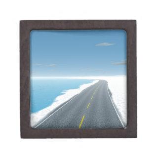 OnTheRoadAgain - Ice Road Keepsake Box