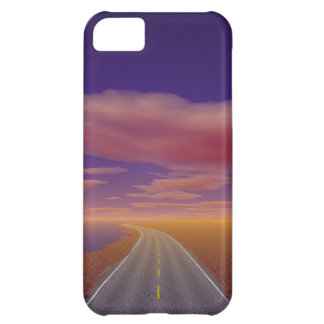 OnTheRoadAgain - Lonesome Trucker Case For iPhone 5C