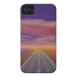 OnTheRoadAgain - Lonesome Trucker iPhone 4 Cover