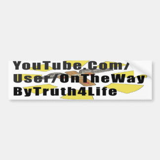 OnTheWay bumpersticker! Bumper Sticker