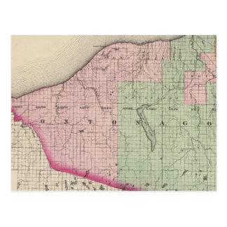 Ontonagon County Michigan Postcard