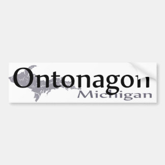 Ontonagon Michigan Bumper Sticker