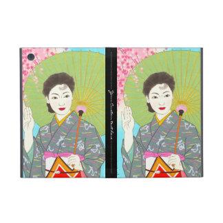 Onuma Chiyuki Japanese Girls Month - April, Shade iPad Mini Cases