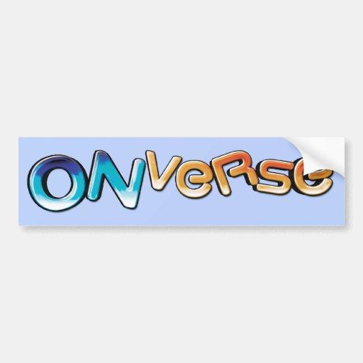 Onverse Logo Bumper Sticker