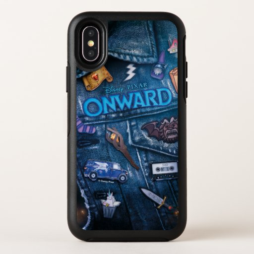Onward | Barley Vest Poster Art OtterBox Symmetry iPhone X Case