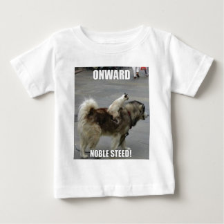 onward noble steed baby T-Shirt