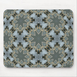 Onyx Beaded Snow Mouse Pads