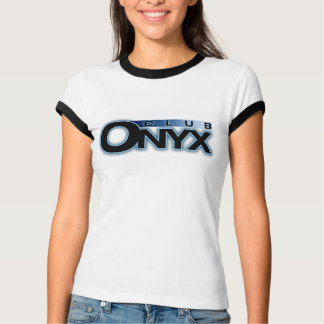 Onyx Club Ladies Ringer T-Shirt