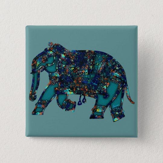 Onyx Elephant Button
