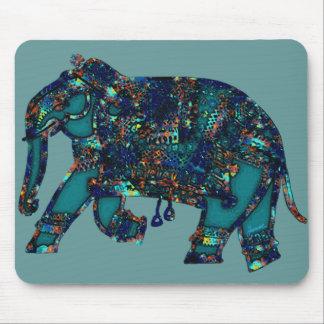 Onyx Elephant Mouse Pad