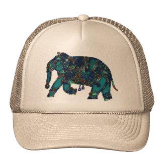 Onyx Elephant Trucker Hat