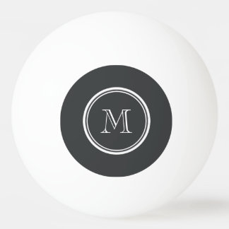 Onyx High End Colored Personalized Ping Pong Ball