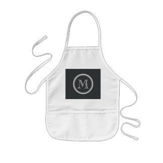 Onyx High End Colored Personalized Kids' Apron