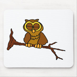 Onyx Owl Mouse Pads