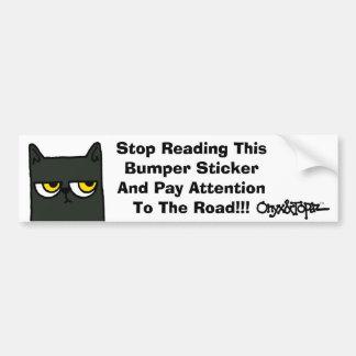 ONYXface1, oatTRADEMARK copy, Stop Reading This Bumper Sticker