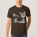 Onza del dibujo animado y camiseta de Cubs Playeras