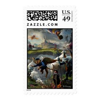 Onza: El poster grande y potente 5 Timbres Postales